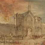 John Constable, The Houses of Parliament on Fire, 1834