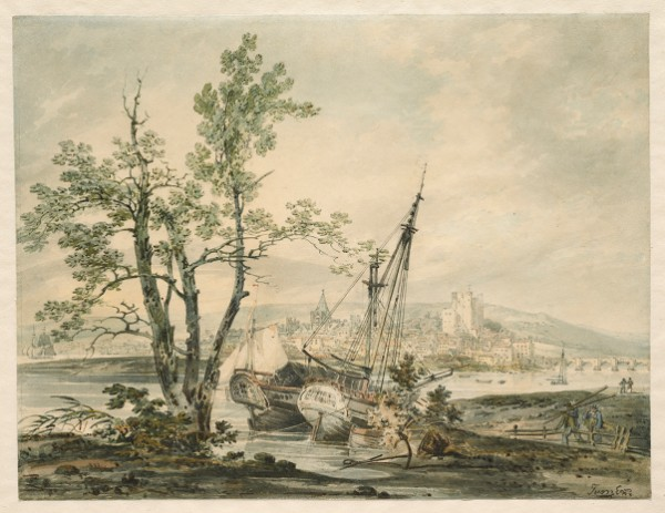 Joseph Mallord William Turner, Rochester, circa 1793