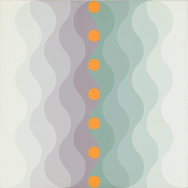 Edna Andrade, Twilight Wave, 1973