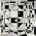 Edna Andrade, Space Frame D, 1965