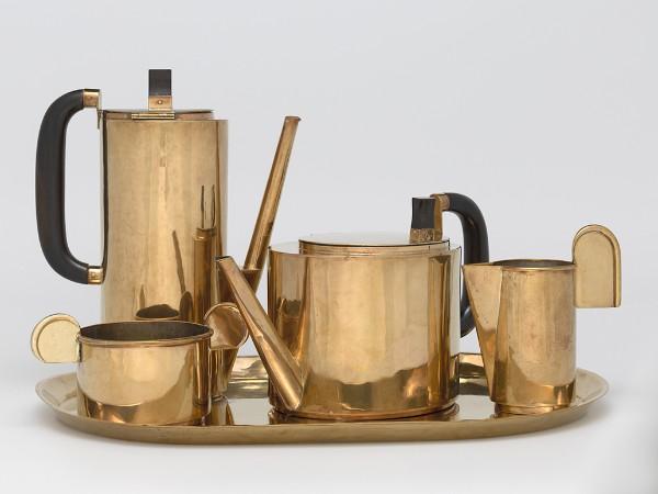 Wilhelm Wagenfeld, Coffee and Tea Service: 5-Piece Set, 1924–25