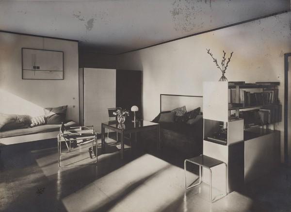 Lucia Moholy, Bauhaus Masters Housing, Dessau, 1925–26