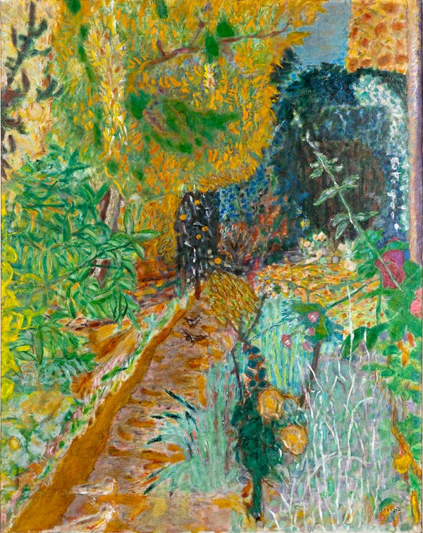 Pierre Bonnard, The Garden (Le Jardin) , 1936