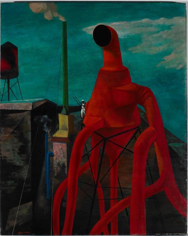 Arthur Osver, Red Ventilator, 1945