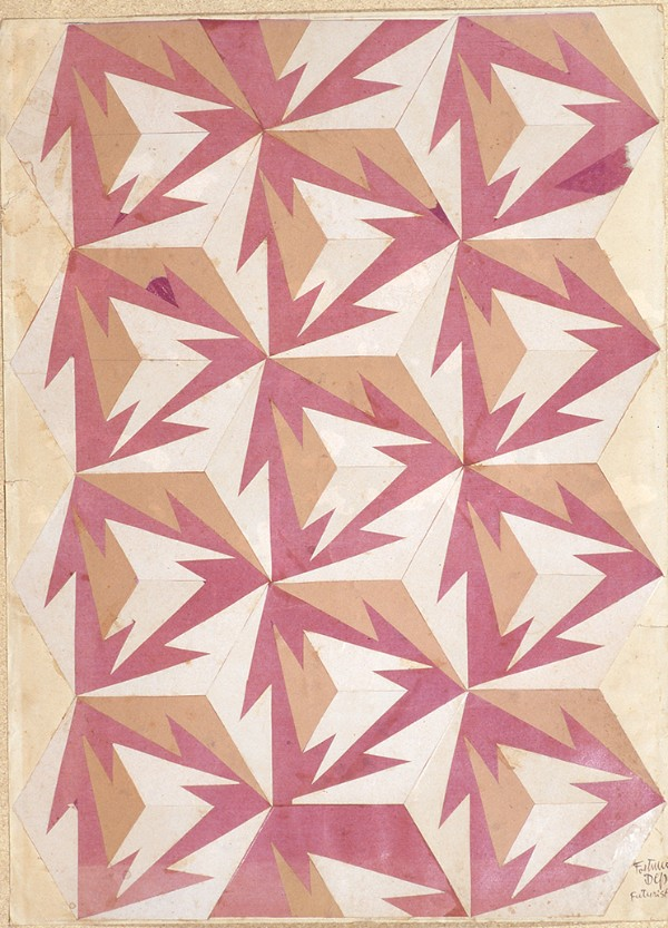 Design drawing for a rug, 1927