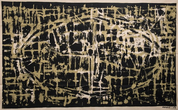 Panel, Mulinello [Whirl], 1957