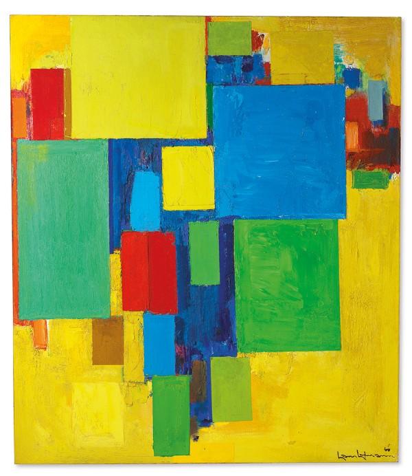 Hans Hofmann, Auxerre [Auxerre, France], 1960