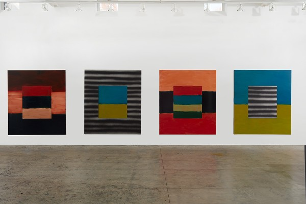 Sean Scully, Human Too (installation), 2017