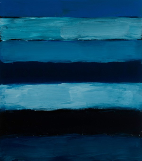 Sean Scully, Landline Far Blue Lake, 2018