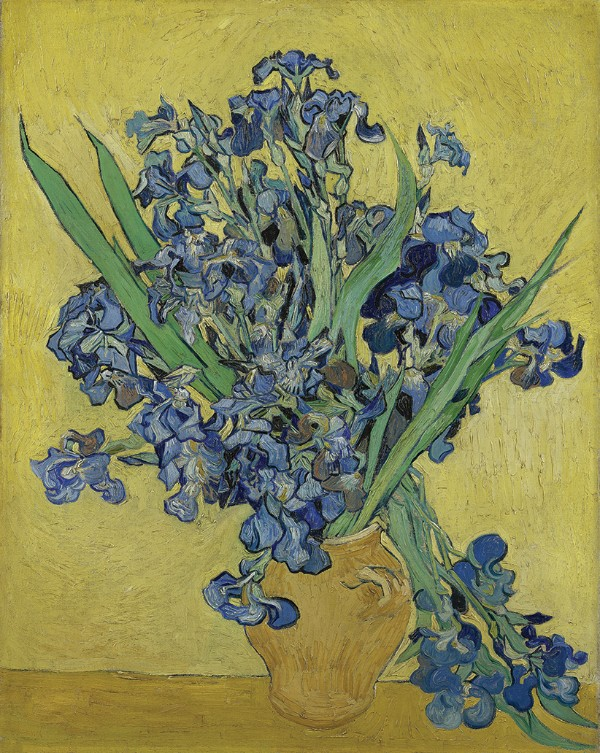Vincent van Gogh, Irises, May 1890