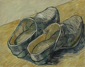 Vincent van Gogh, A Pair of Leather Clogs, autumn 1889