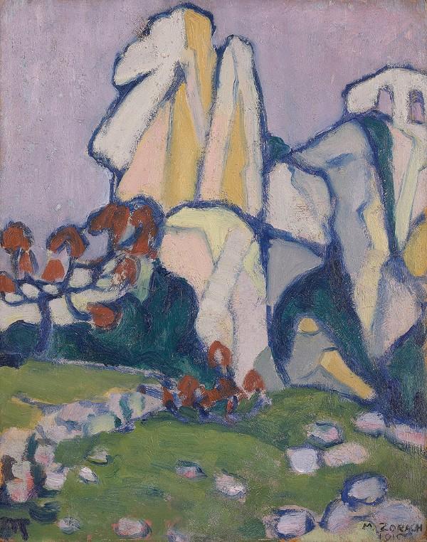 Marguerite Thompson Zorach, Moonlight, 1910