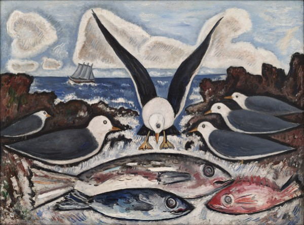 Marsden Hartley, Give Us This Day, 1938