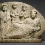 Funerary relief, circa 2nd-3rd century A.D.