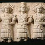 Relief with Three Palmyrene Gods, 1st century