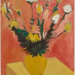 Bernard Langlais, Still Life on Yellow Table, circa 1950–53