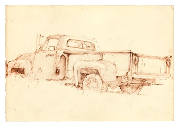 Will Brown, Untitled [1953 Ford pick-up], 1968