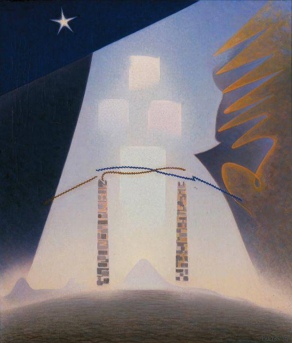 Agnes Pelton, Future, 1941