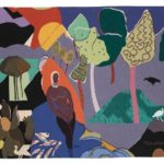 Romare Bearden, Recollection Pond, 1976