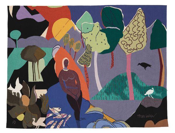 Romare Bearden, Recollection Pond, 1976