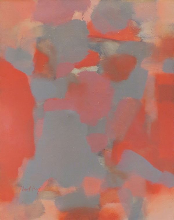 Carl Holty, Russet, 1966