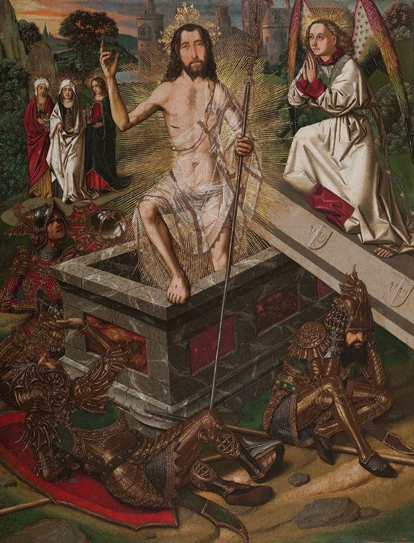 Bartolomé Bermejo, Resurrection, about 1470–75