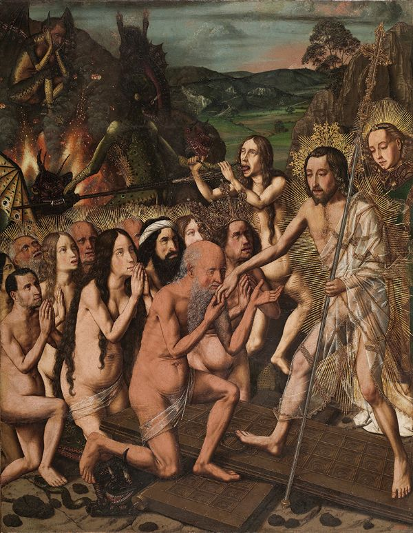 Bartolomé Bermejo, Descent of Christ into Limbo, about 1470–75