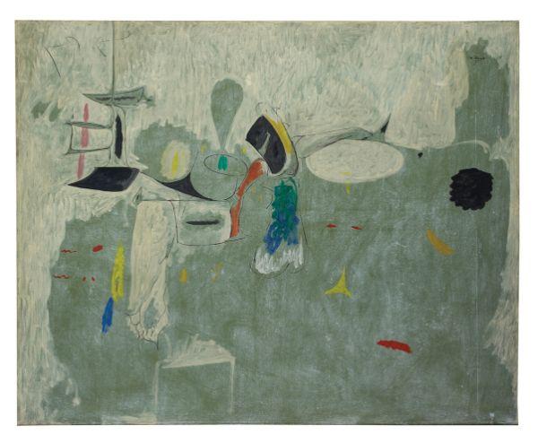 Arshile Gorky, The Limit, 1947
