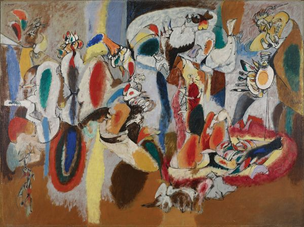 Arshile Gorky, The Liver is the Cock's Comb, 1944