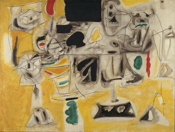 Arshile Gorky, Landscape-Table, 1945