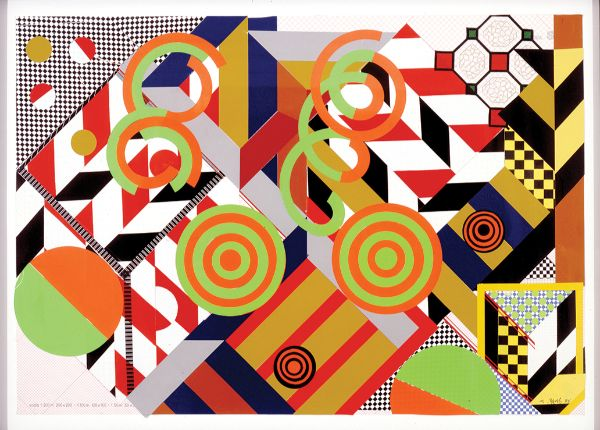 Judy Pfaff, Scopa #1 (sette bello), 1988