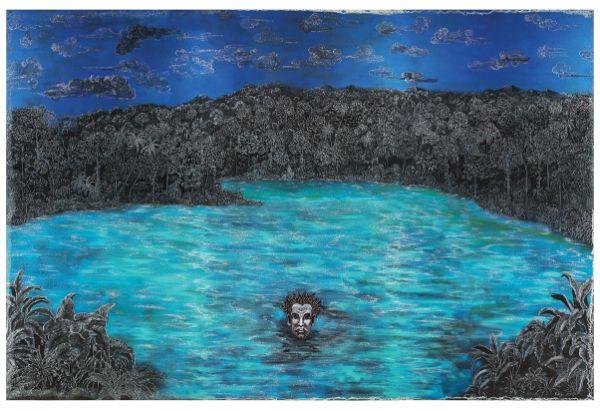 Edouard Duval-Carrié, Lost at Sea / Perdido en el mar, 2014