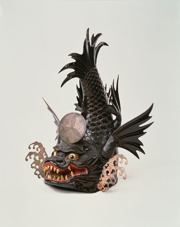 Helmet Shaped like a Shachihoko, Edo period