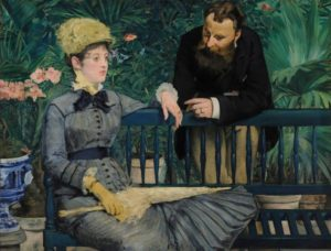 Édouard Manet, In the Conservatory, about 1877–79