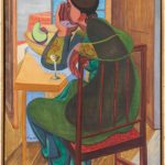 David Park, Woman at a Table, circa 1938