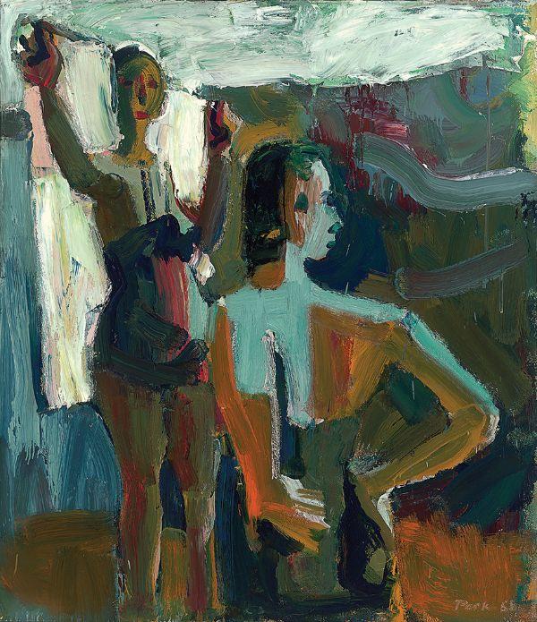 David Park, Two Bathers, 1958
