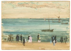 James McNeill Whistler, Southend Pier, 1882-84