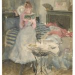 James McNeill Whistler, Pink Note-The Novelette, 1883-84