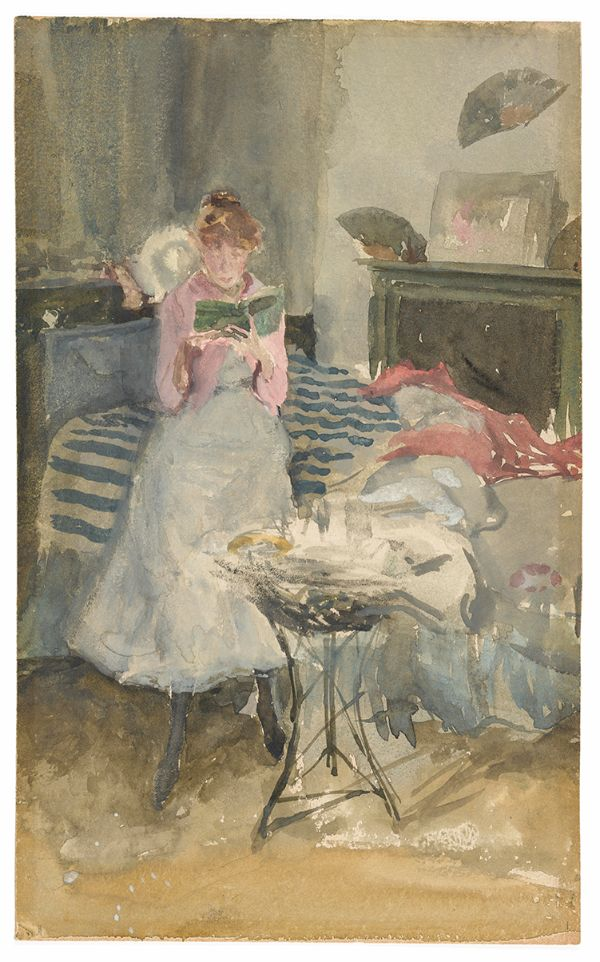 James McNeill Whistler, Pink Note-The Novelette, 1883-84