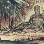 William Blake, Capaneus the Blasphemer, 1824-1827