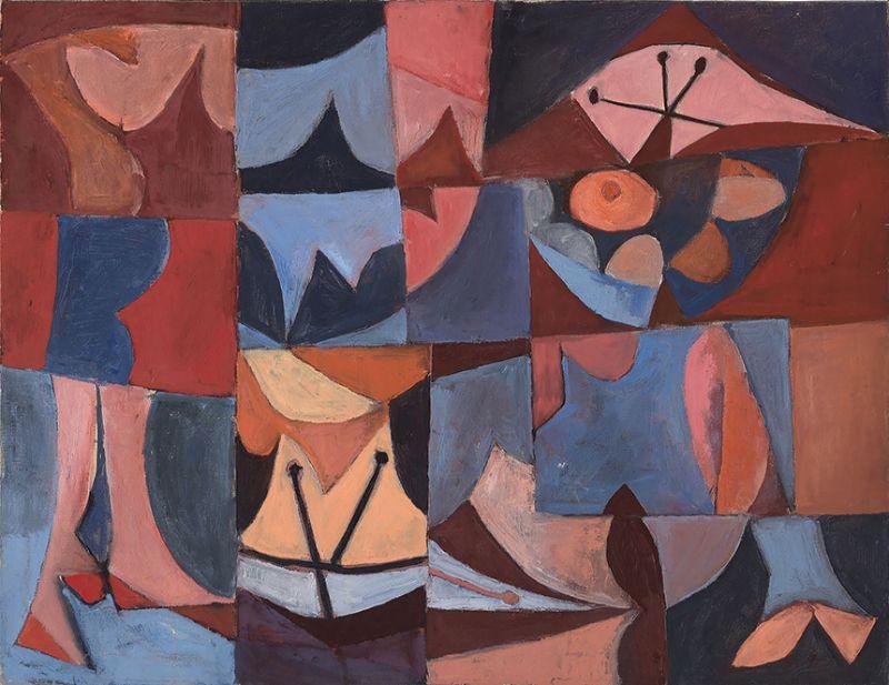 Frank Lobdell, untitled painting, 1947