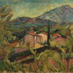 Andre Masson, Le couvent des Capucins à Céret, 1919