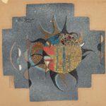 Eren Eyüboglu, Design for Mosaic, 1957