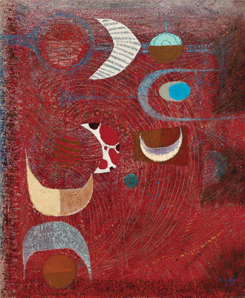 Bedri Rahmi Eyüboglu, Full Moon, 1961