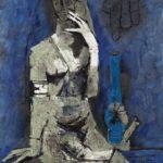 Maqbool Fida Husain, Virgin Night, 1964