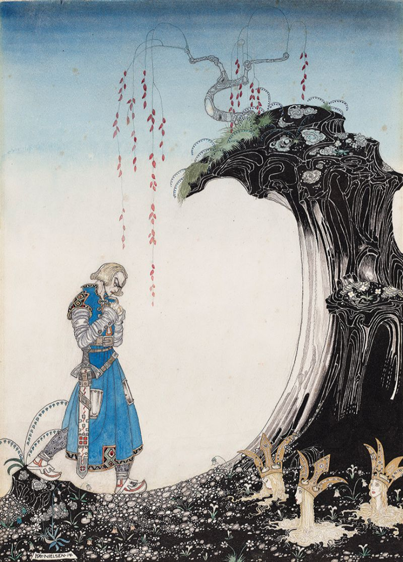 Kay Nielsen, illustration from East of the Sun and West of the Moon, Old Tales from the North, 1914