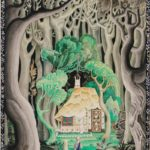 Kay Nielsen, graphite; illustration from Hansel and Gretel and Other Stories, 1924