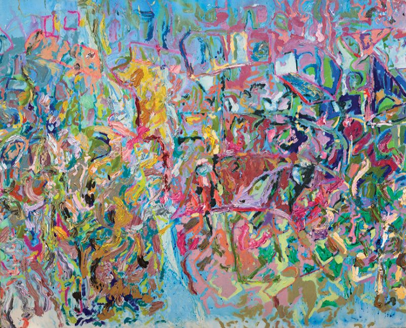Larry Poons, Swanno Mt., 2005