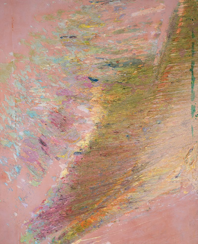 Larry Poons, Ruffels Quequeeg, 1972