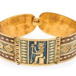 Bracelet with image of Hathor, 250-100 B.C.